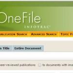 ทดลองใช้ฐานข้อมูลAcademic OneFile และ National Geographic Virtual LIbrary